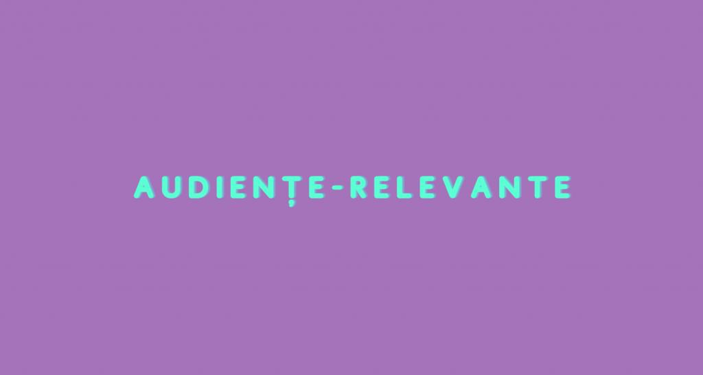 Audiențe relevante în Influencer Marketing