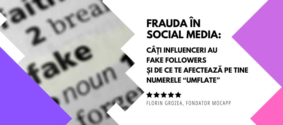 Fake Followers - Frauda in Social Media