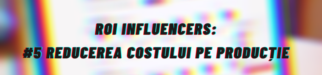 E-Commerce ROI Influencers
