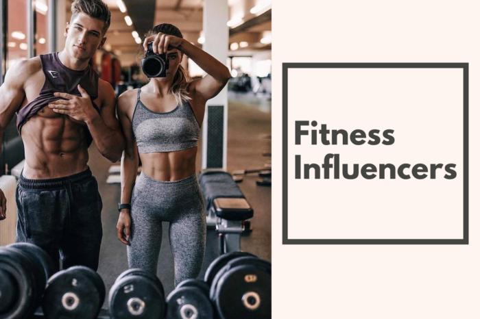 Fitness Influenceri și campanii din nișa Fitness