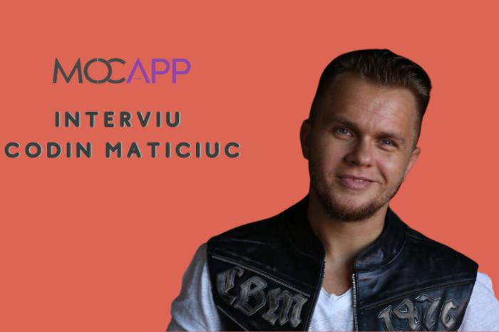 Interviu MOCAPP cu Codin Maticiuc